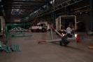 Jahrmarkt Bochum - Aufbau 3